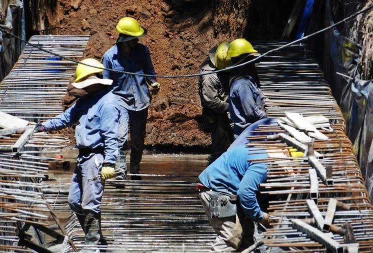 Areco: Ecodyma avanza en 2da etapa de obra desagües