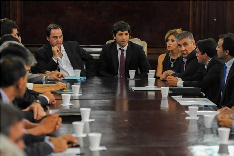 Reuni n del ministerio del interior con intendentes y for Llamado del ministerio del interior 2016