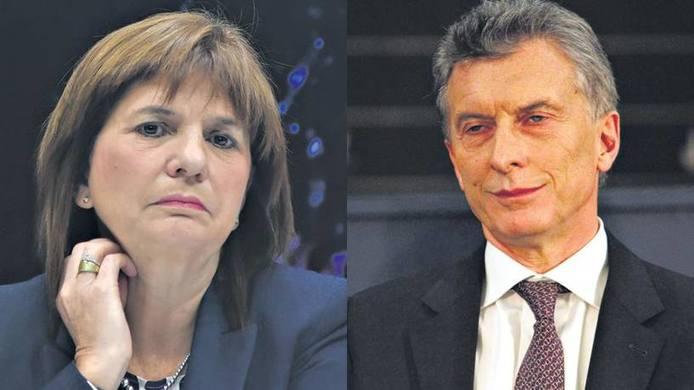 Patricia Bullrich presentó su renuncia